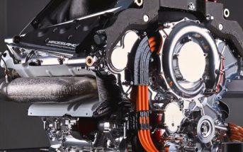 AMG PU106A F1 Hybrid Power Unit - image care of Mercedes-Benz