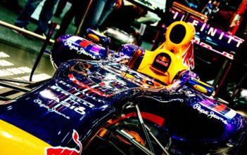 Red Bull Hybrid F1 Car