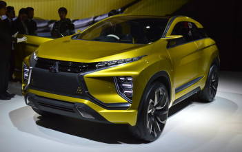 eX All Electric Mitsubishi SUV - image from MMC