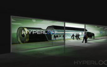 Hyperloop Passenger Boarding - Image by Hyperloop