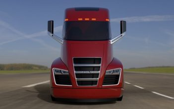 Nikola One - Hybrid Electric Truck - Red (Image c/- Nikola Motors)