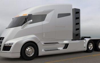 Nckola One Hybrid Electric Truck - Image c/- Nikola Motors