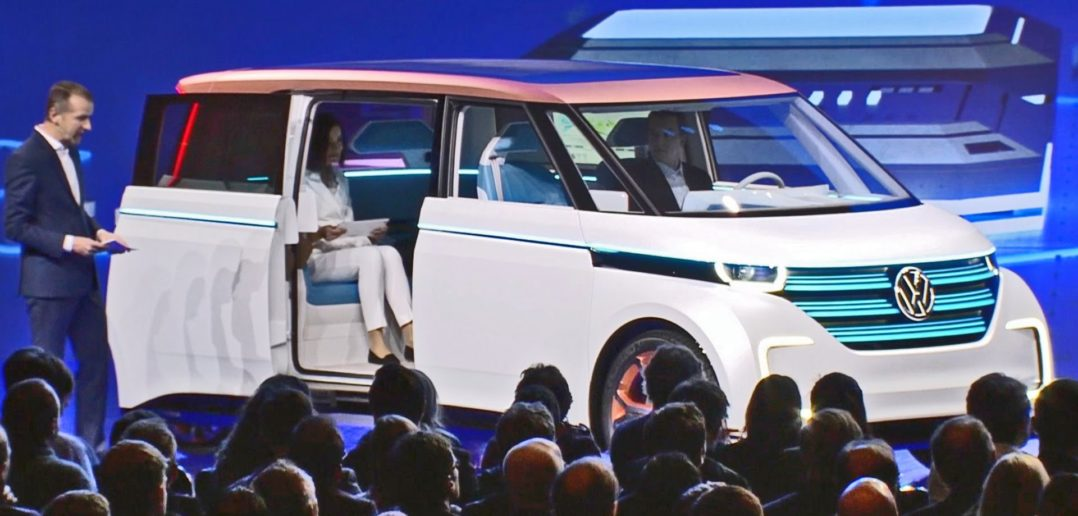 Automated Vehicle Technology - Image by Volkswagen
