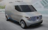 Benz Vision Van EV Concept - image by Mercedes Benz