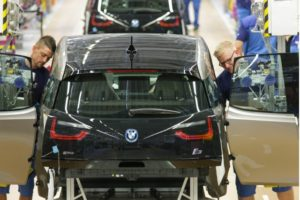 BMW iSeries Production Line