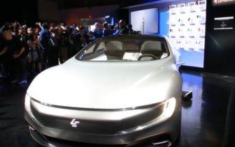 LeEco Concept Electric Vehicle