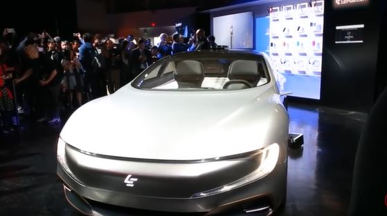 LeEco Concept Electric Vehicle