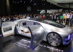 Mercedes Benz Autonomous Vehicle Concept. [Image by Mercedes Benz]