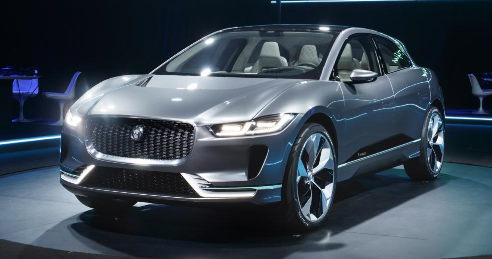 Jaguar I-Pace All Electric 4WD SUV - image by Jaguar