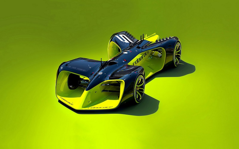 Roborace -AI - Driverless Racing Car Development