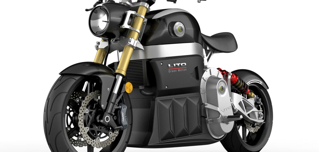 Lito Sora Electric Motorcycle - image by Lito Sora